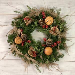 Christmas Season Wreath