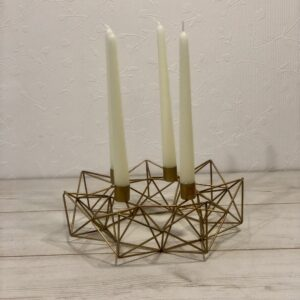 wreath candleholder